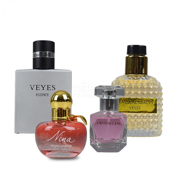 2 In 1 Bundle Offer Refillable Perfume Travel And 4 Pcs Perfume Bottles BND17-181