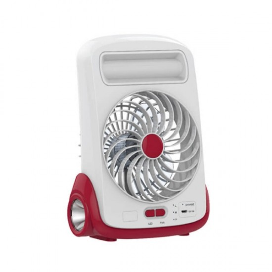 Geepas 5 Inches Rechargeable Mini Fan - GF9618