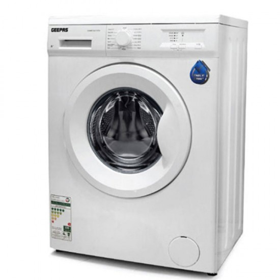 Geepas 5KG Front Load Fully Auto Washing Machine, Turkey - GWMF5807STV