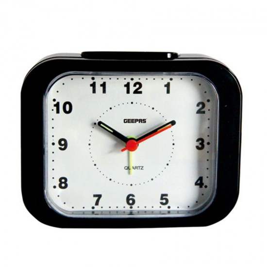 Geepas Alarm Clock White-Black - GWC26017