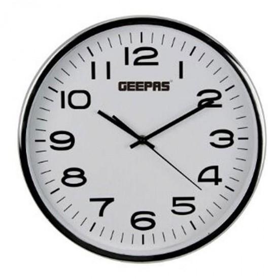 Geepas Black & White Wall Clock - GWC26016