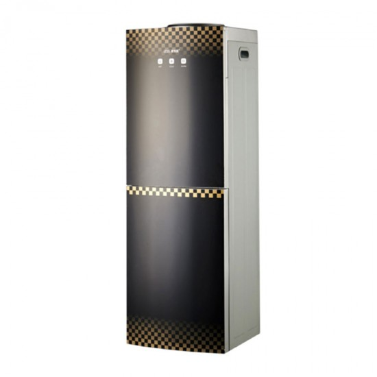 Geepas Hot & Cold Water Dispenser with Refrigerator - GWD8363