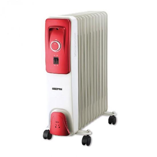 Geepas OilFilled Radiator Heater 11Fins 3Heat - GRH9103