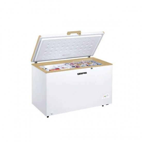 Geepas Chest Freezer, 410Ltr - GCF4106WAH