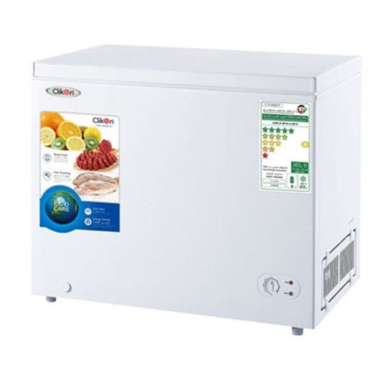 Clikon Chest Freezer - 255 Liters - CK6009