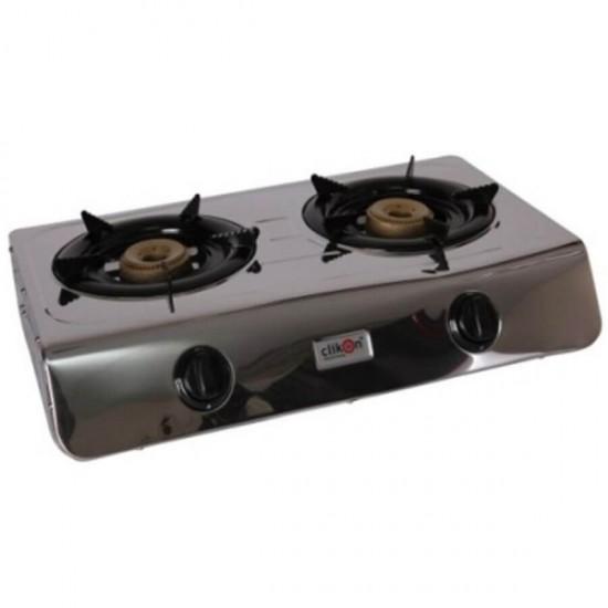 Clikon Gas Stove 2 Burner - Ck 2144-Dgb