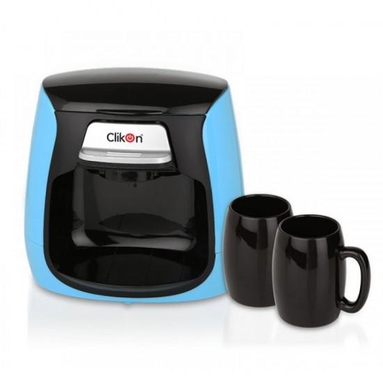 Clikon Single Serve Coffe Maker - Black & Blue, CK2272
