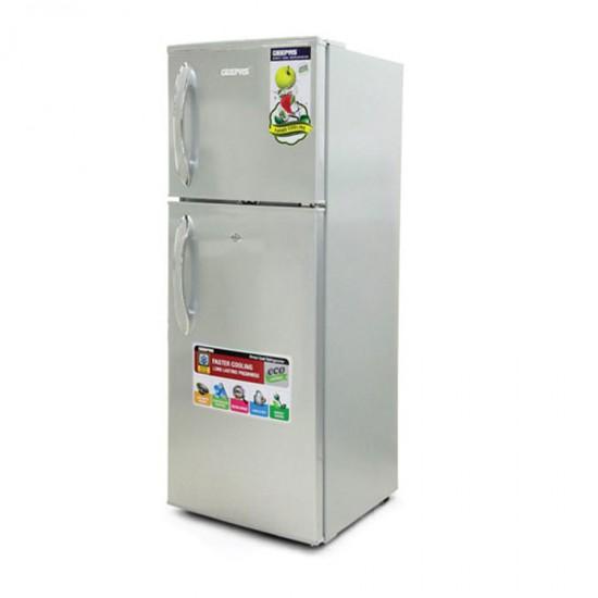 Geepas 180L Direct Cool, Double Door Refrigerator - GRF1856WPN