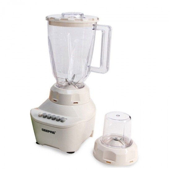 Geepas 2 In 1 Blender With 1.5 L, 4 Speed - GSB5362