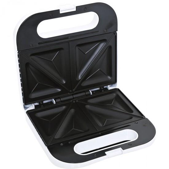 Geepas 2 Slice Sandwich Toaster, Nonstickk Plate - GS672