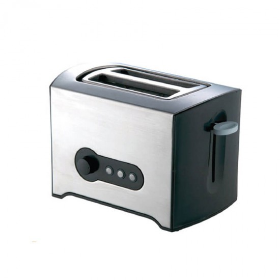 Geepas 2-Slice Bread Toaster Ss Body - GBT6152