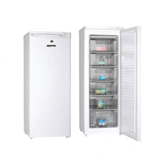 Geepas 200L Upright Freezer ,6 Drawers - GRFU2006