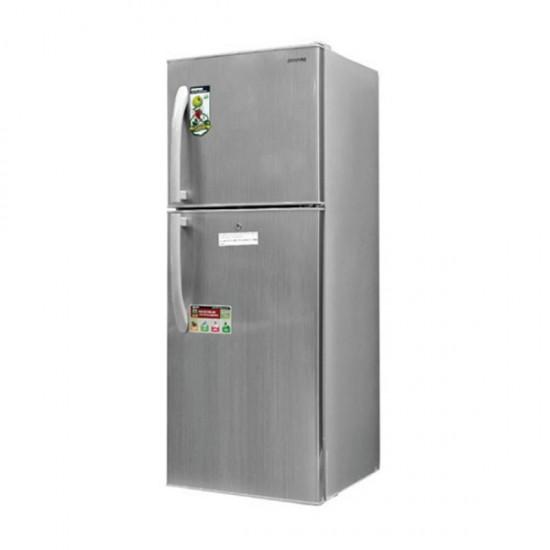 Geepas 250L No Frost Double Door Refrigerator - GRF2507SPN
