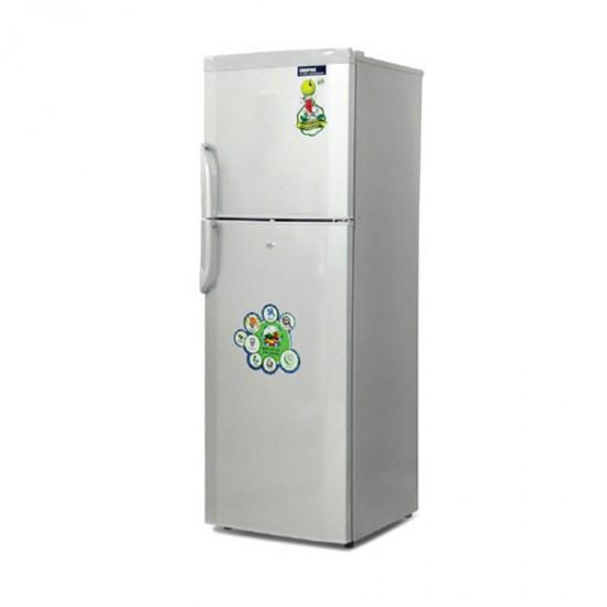 Geepas 360L ,No Frost, Double Door Refrigerator - GRF3654WXN