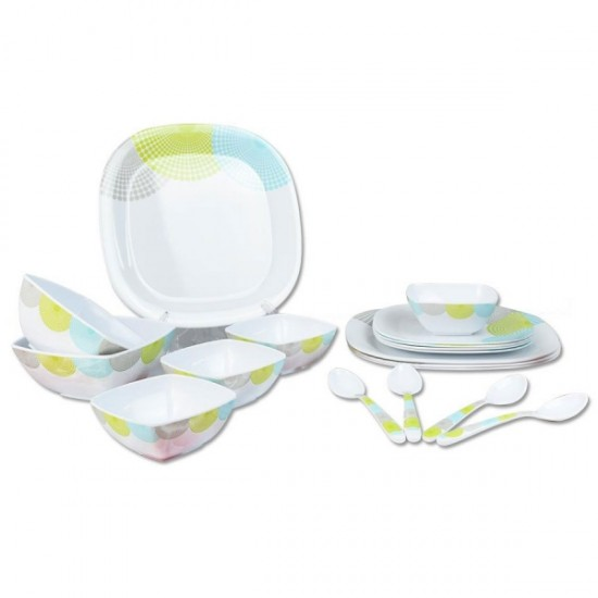 18 Pcs Melamine Dinner Set - OE18003