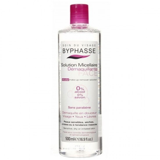 Byphasse 12 Micellar Make Up Remover Solution 500Ml