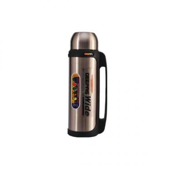 Geepas Steel Inner Vacuum Flask 2.2L - GSVB4113
