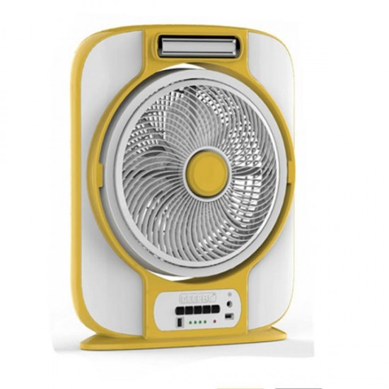 Geepas 12 Inches Rechargeable Fan - GF989R1