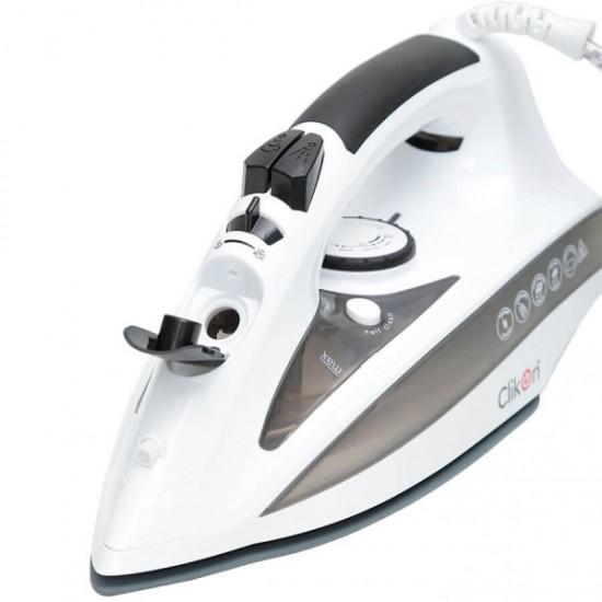 Clikon Steam Iron 2200 W,White - CK4116