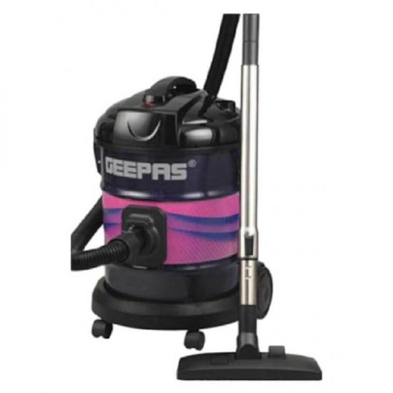 Geepas Drum Vacuum Cleaner, Dry, Blow, 25L - GVC2588