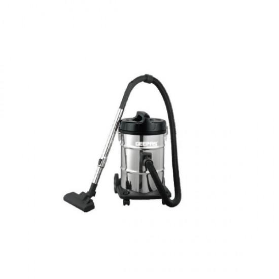 Geepas SS Drum Vacuum Cleaner, Dry & Blow Function - GVC2597