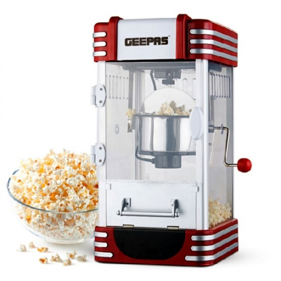 Geepas Popcorn Maker SS Bowl - GPM839