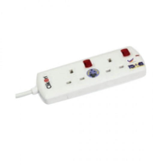 Clikon 2 Way Extension Socket CK560