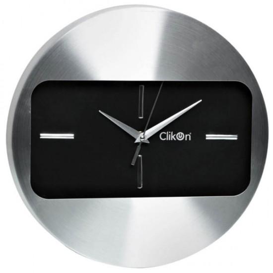 Clikon CK1116 Aluminum Frame Wall Clock