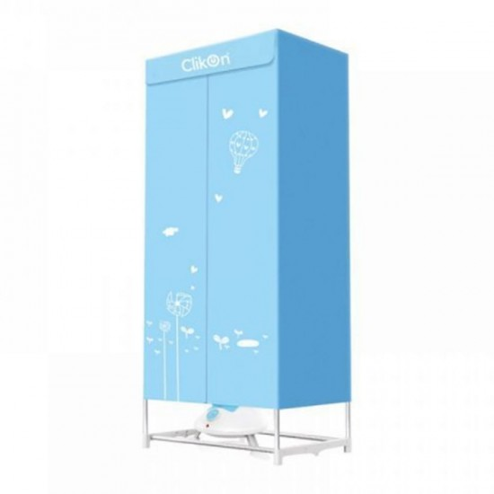 Clikon Electric Cloths Dryer With Wardrobe - CK4013