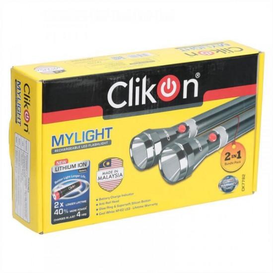 Clikon Mylight -premium Quality 3sc 2 In 1 Bp Flash Lighttorch -Ck7782