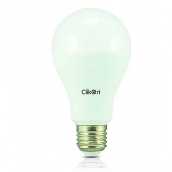 Clikon Thread Type LED Bulb, 15W, White - CK513- E27