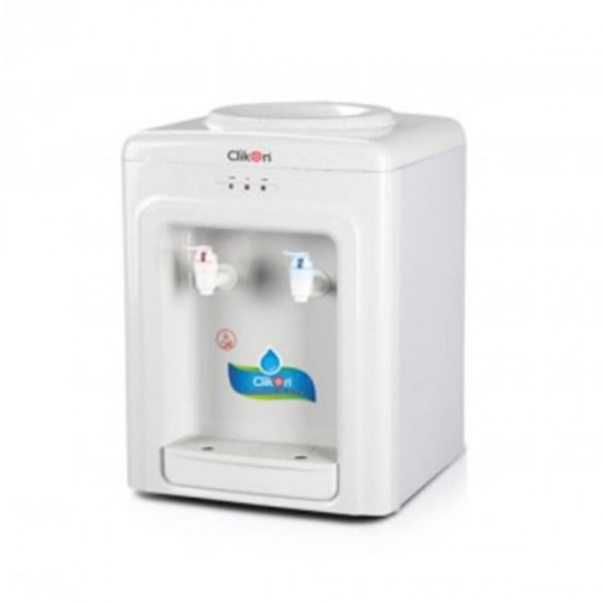 Clikon Water Dispenser , Hot and Normal , White CK4021