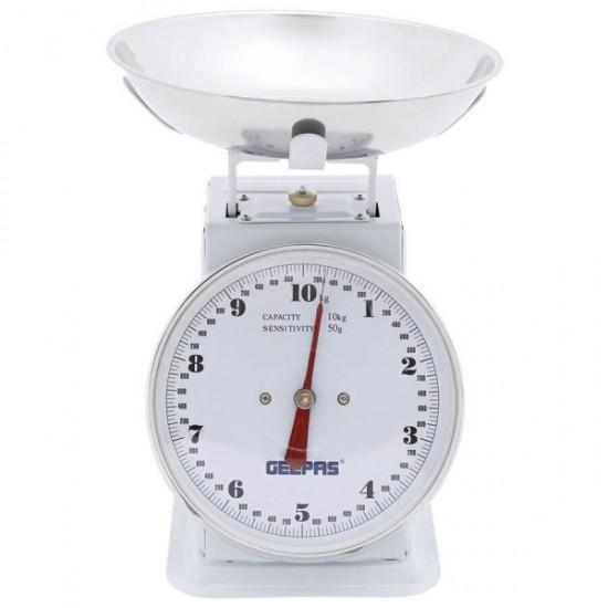 Geepas 10 Kg Spring Scale - GBS4186