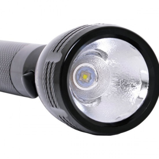 Geepas 118MM Rechargeble Flashlight CreeLed - GFL4649