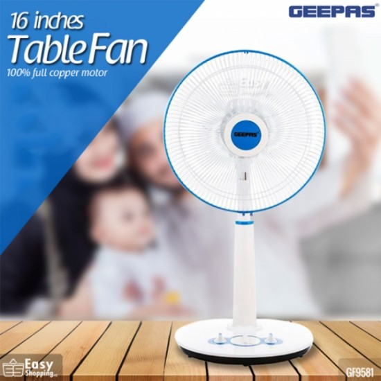 Geepas 16 Inches Table Fan - GF9581