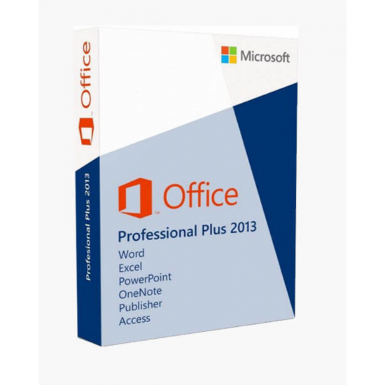 Microsoft Office 2013 Professional Plus 32/64 Bit with Global Key