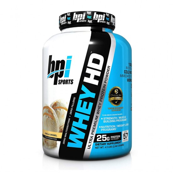 BPI Whey HD Vanilla Cookie
