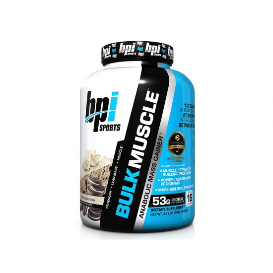 BPI Sports Bulk Muscle Cookies And Cream