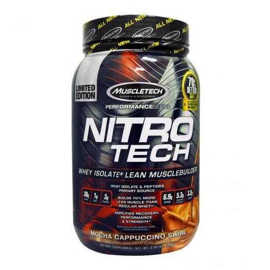 MuscleTech Nitro Tech Performance Series Mocha Cappuccino Swirl
