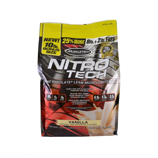 MuscleTech Nitro Tech Performance Series Vanilla