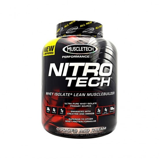 MuscleTech Nitro Tech Performance Series Cookies and Cream