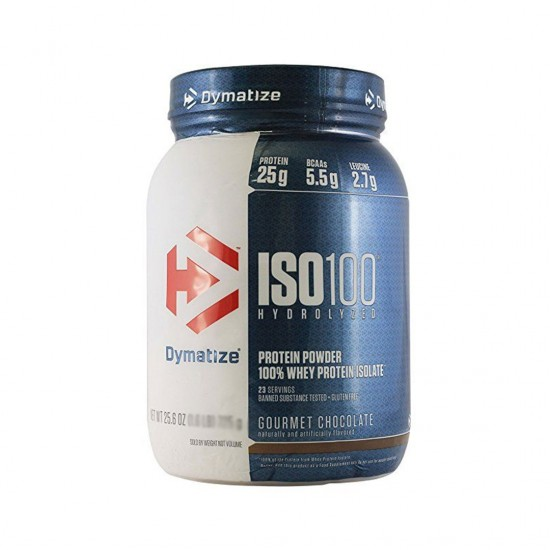 Dymatize Nutrition ISO 100 Hydrolyzed Gourmet Chocolate