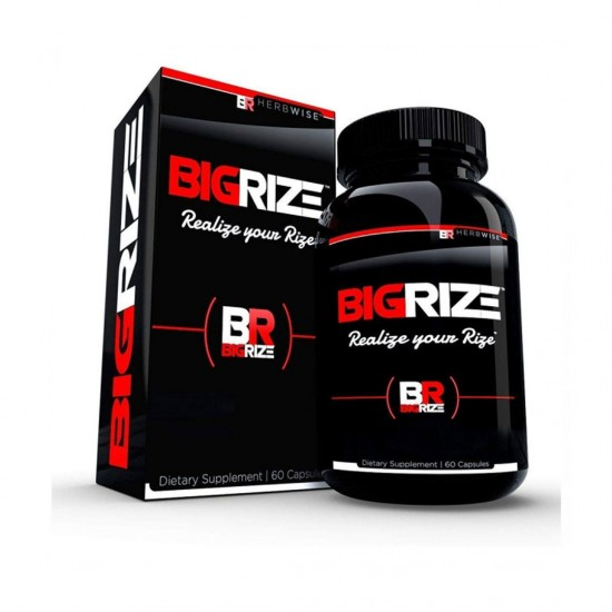 Bigrize Top Rated Male Enhancement Pills, 60 Capsules