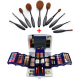 Makeup Kit 2001 Blue With Profissional Makeup Brushes Set BND18-103