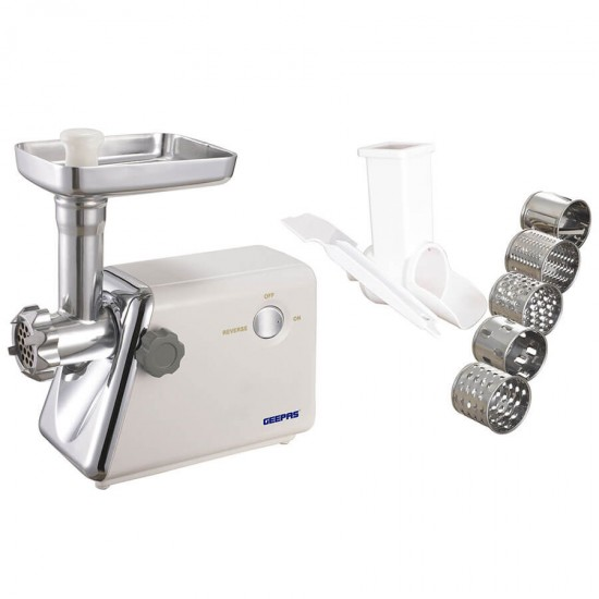 Geepas Auto Meat Grinder Plastic Body - GMG765