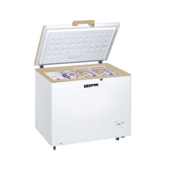 Geepas Chest Freezer 350 Ltr - GCF3506WAH