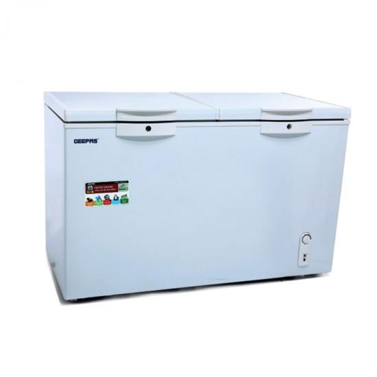 Geepas Chest Freezer 400 L Aluminium Inner - GCF4005