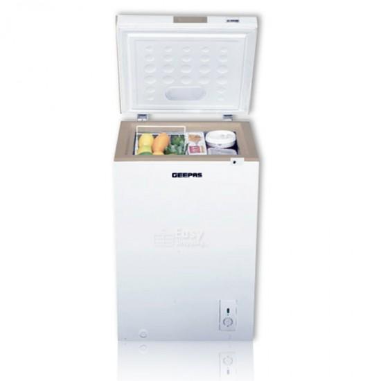 Geepas Chest Freezer Capacity 120 L - GCF1206WAH