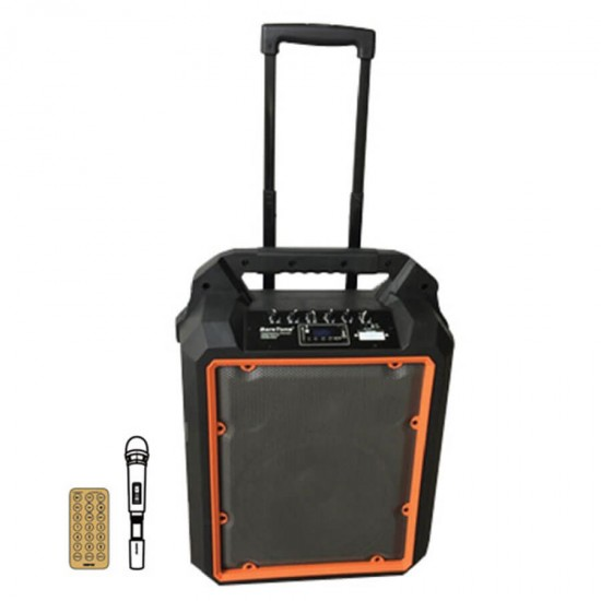 Geepas Portable And Rechargeable Trolley Speaker - GMS8809