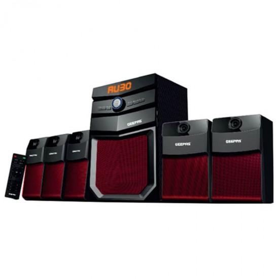 Geepas 5.1 Multimedia SpeakerUsb Fm Rmt Bt - GMS8498